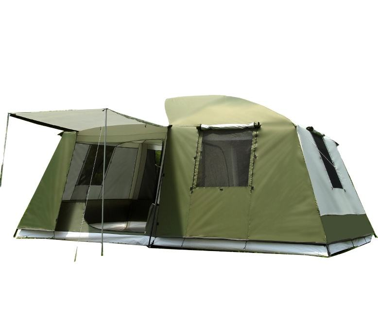 12 Person Big Family Outdoor Canvas Camping Tent For Sale