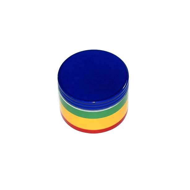4 Layer 50 mm 4 Color Broken Smoke Grinder Tobacco Grinder Smoking Pipe Herb Weed Grinder