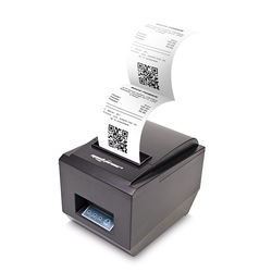 Top Quality PRINT POS THERMAL 80mm 300mm/s USB / RS232 / LAN QR CODE  BP-DTPP-009 for sale