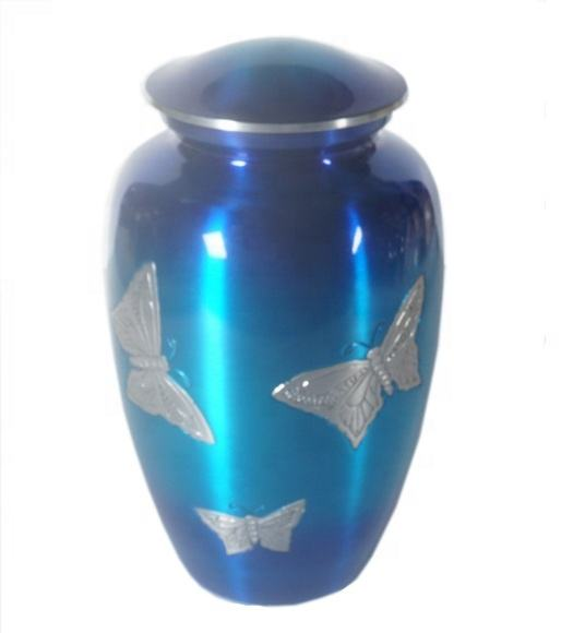 CLASSIC BUTTERFLY CREMATION URN FOR HUMAN ASHES