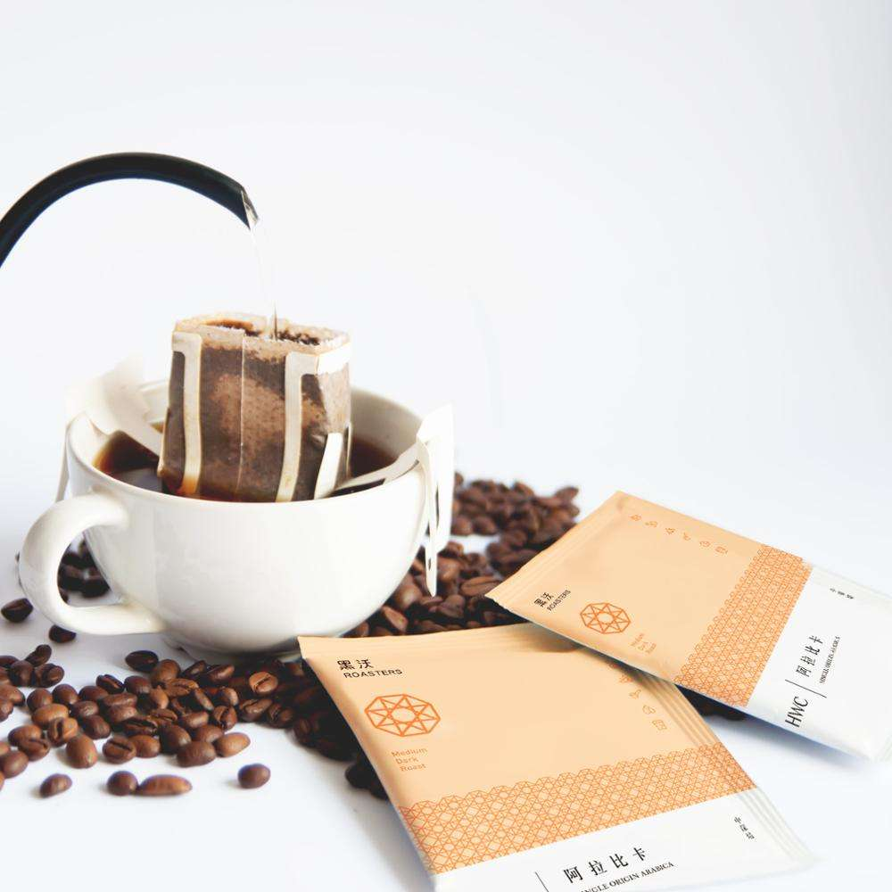 Colombia Single Origin Arabica Hanging Ear Drip Coffee Ground Coffee Wholesale OEM Customized Private Label
