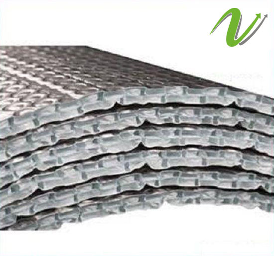 12mm Thick 2 Layer Bubble Aluminium Foil Both Side Insulation Material / Heat Cold Insulation Sheet Roll Reduce Temperature