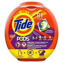GOOD AND NEW Tide PODS 3 in 1 HE Turbo Laundry Detergent Pacs