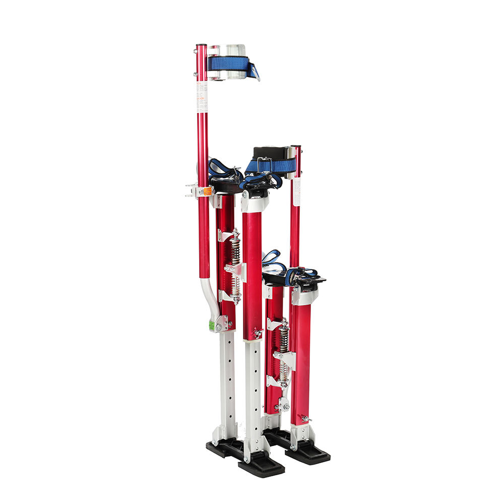 1830 Drywall Aluminum Stilts in Red Color