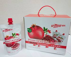 Pomegranate Rose Hip C Gift box Fruit jelly jelly drink