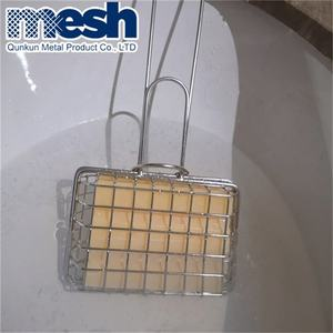 Stainless steel soap shaker to create soapy water for washing dishes
