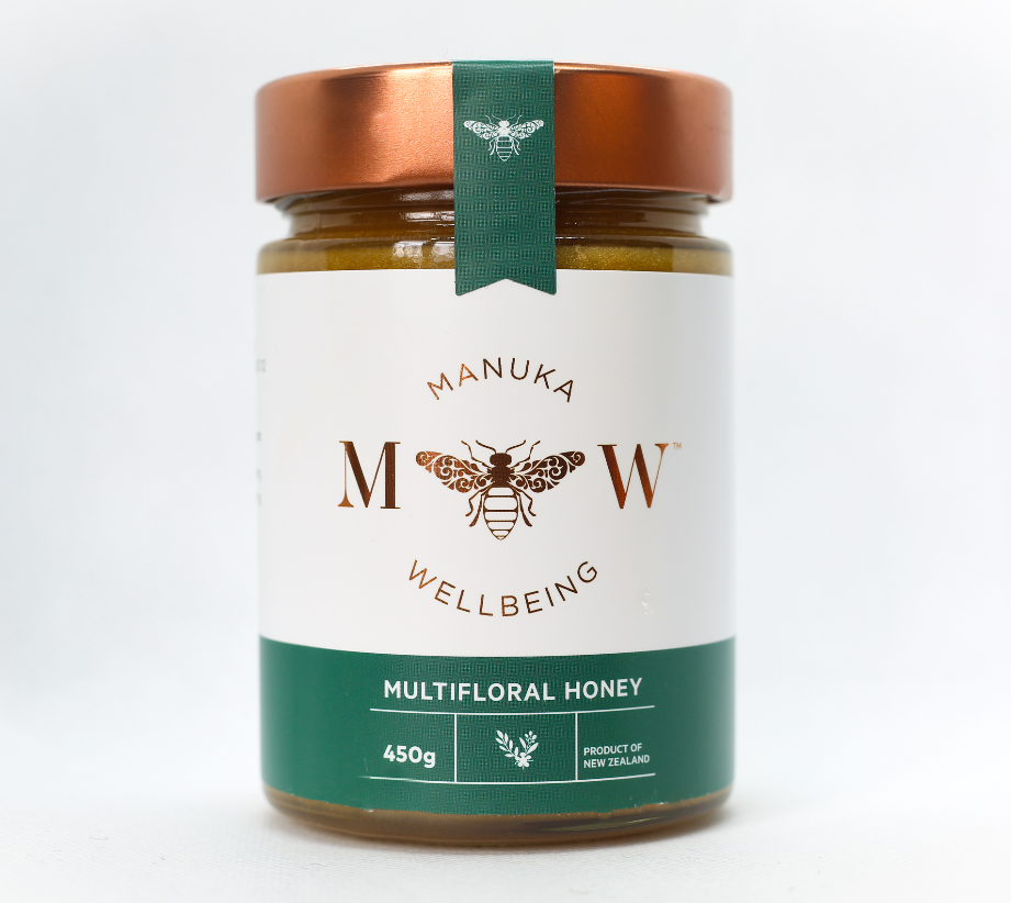 Premium Halal New Zealand - Multifloral Honey 450 Grams