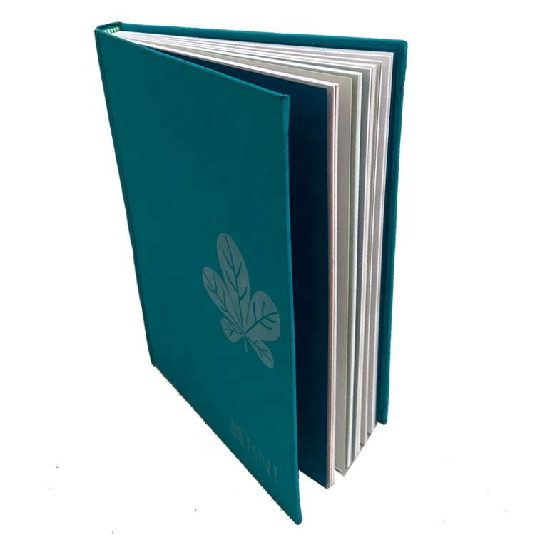 Embossed PU Leather Hardcover Journal Planner Note Book Printing