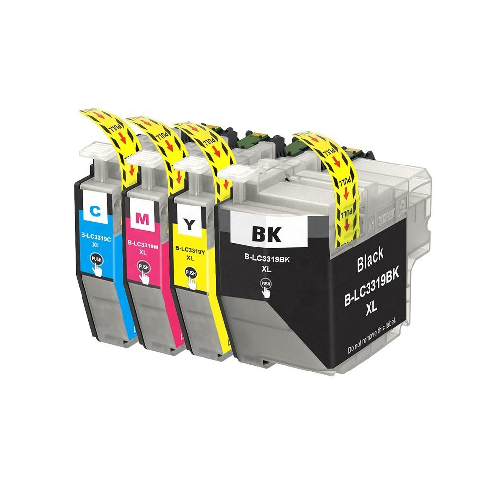Tatrix LC3319 LC3319XL Premium Color Compatible Printer Inkjet Ink Cartridge for Brother MFC-J6730DW MFC-J6930DW