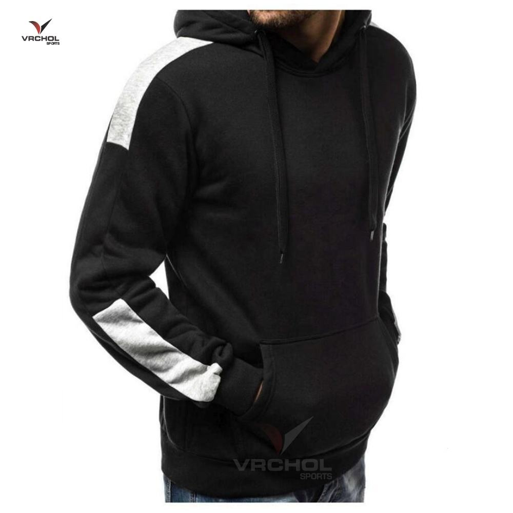 Oem Service Plain Heavy Cotton Basic Pullover Hoodie/Super Soft Plain Thick Fleece Winter Hoodies For Men