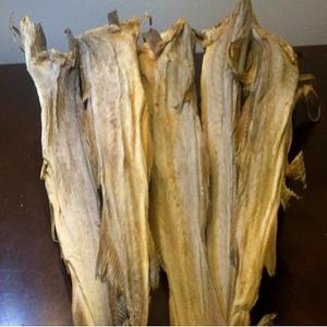 Quality Dry Stock Fish From Norway / Dry Stock Fish Head / Dried Salted Cod for sale