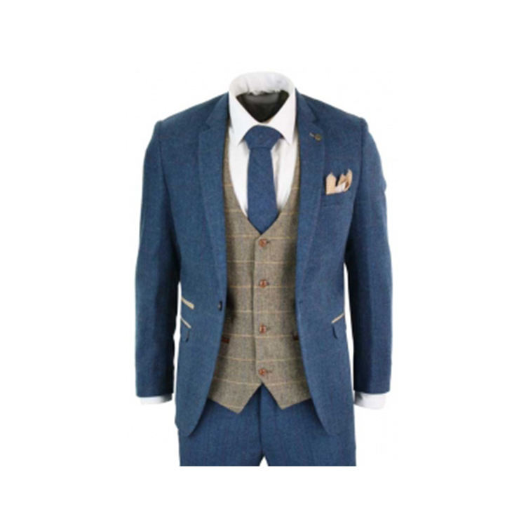 Hot Selling Wedding Three Piece Suits Customized 3 Pieces Suits