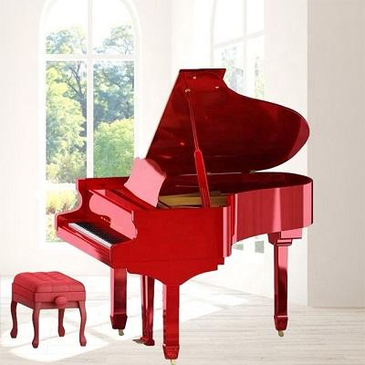 COME ONE COME ALL Piano manufacturers wholesale. Home practice playing 88 key red / black /white mechanical grand piano