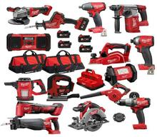 Complete set for Milwaukee-2695-15 M18 18-Volt Cordless Power Lithium-Ion 15-Tool Combo Kit New  power drills