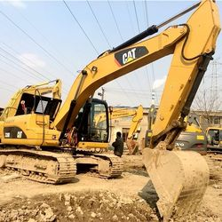 RSA Used excavator caterpillar digger 320D hydraulic pump cat mini crawler excavator