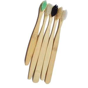 Eco Friendly 100% Organic Hotel Home Use Biodegradable Bamboo Toothbrush