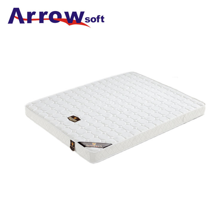 Sleepwell compressed customized size knitted fabric cool foam 6 inch mattress Topper