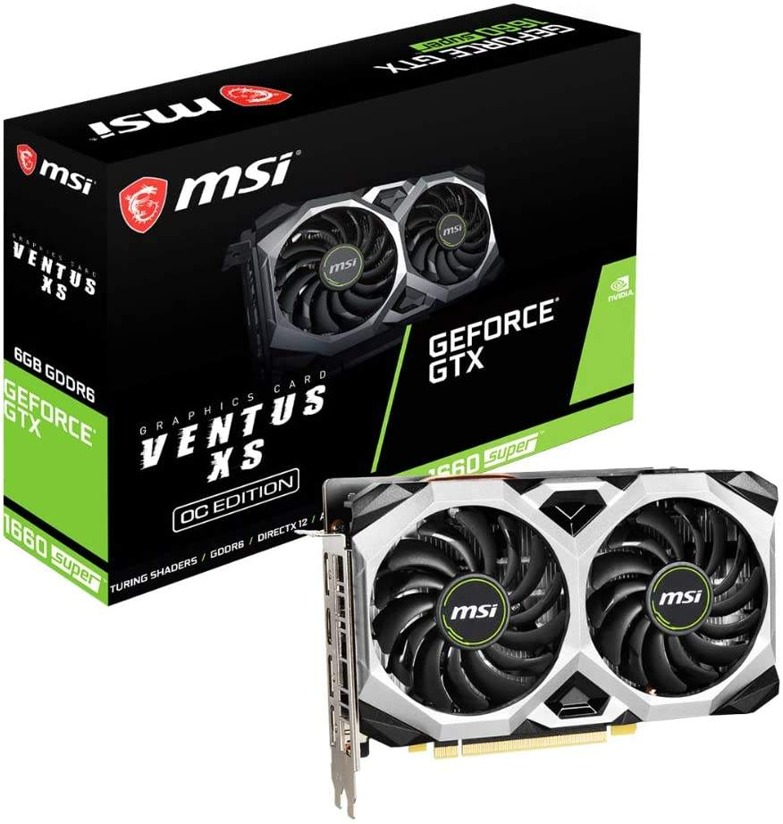 MSI-GEFORCE GTX 1660 סופר VENTUS XS OC