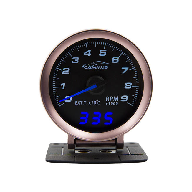 CAMMUS OBD2 60mm mechanic car transformation dual-function racing gauge