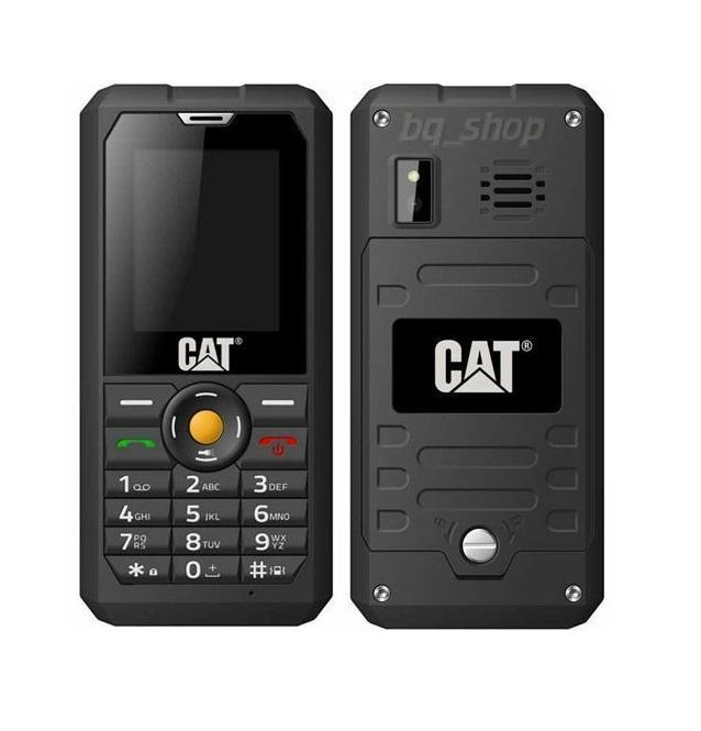 "CATERPILLAR CAT B30 Dual Sim Black IP67 2"" Waterproof Phone"