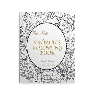 Wholesale High Quality Custom Coloring Books Printing Kid Book Printing Adult Coloring Books