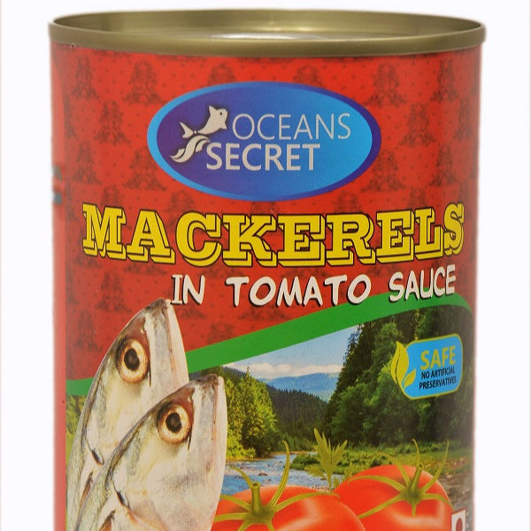 Canned Mackerel in Tomato Sauces