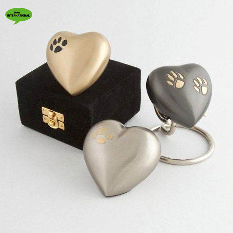 Stellar Quality Precisely Designed Heart Shaped Keepsake Cremation Urns