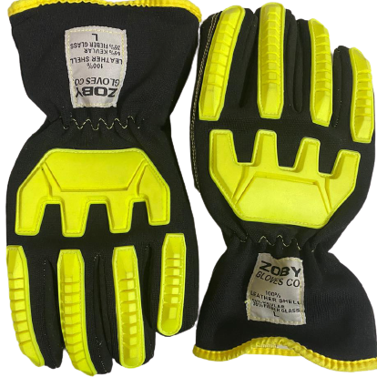 Mechanical wear high impact gloves