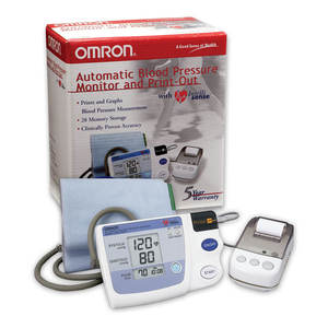 Omron Silver Blood Pressure Monitor, Upper Arm Cuff, Digital Bluetooth Blood Pressure Machine wholesale