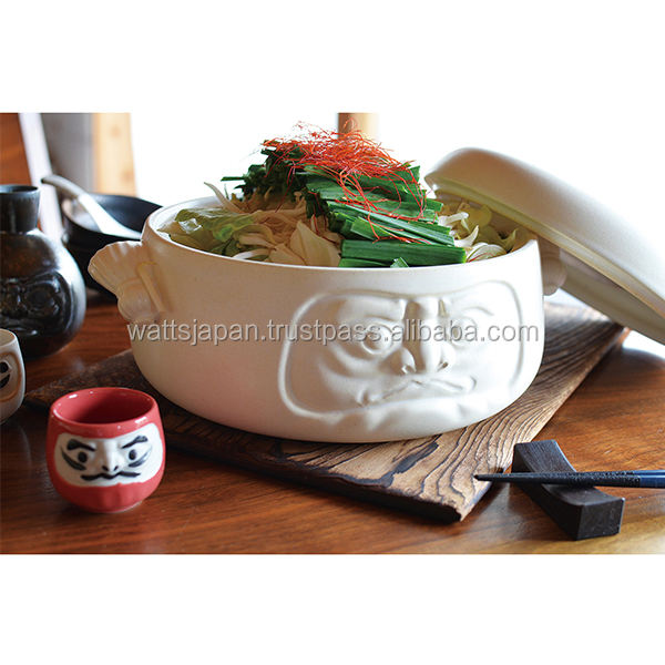 Japanese Ceramic Cookware Cooking Modern Clay Soup Pot For Microwave Ovens