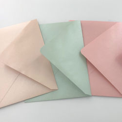 Luxury Envelope Made by Pearl/Glitter/3D Puffy/Embossed Paper