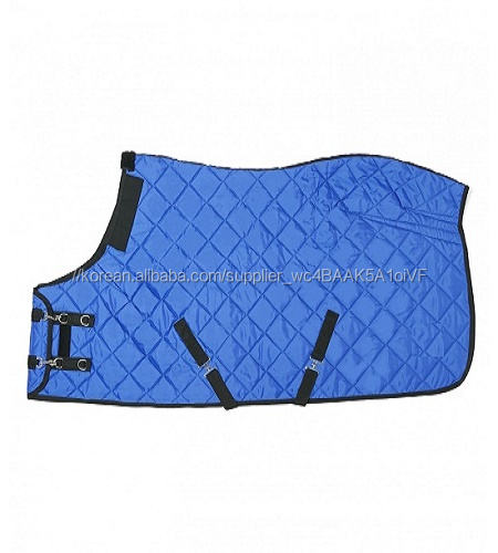 Indoor Stable Quilted horse show rug polyester stable winter Horse Blanket