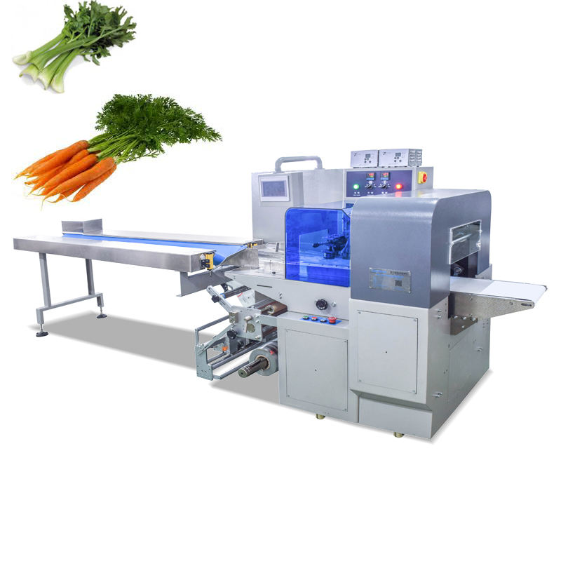 Quality Assurance vegetable and fresh fruit flow packing machine