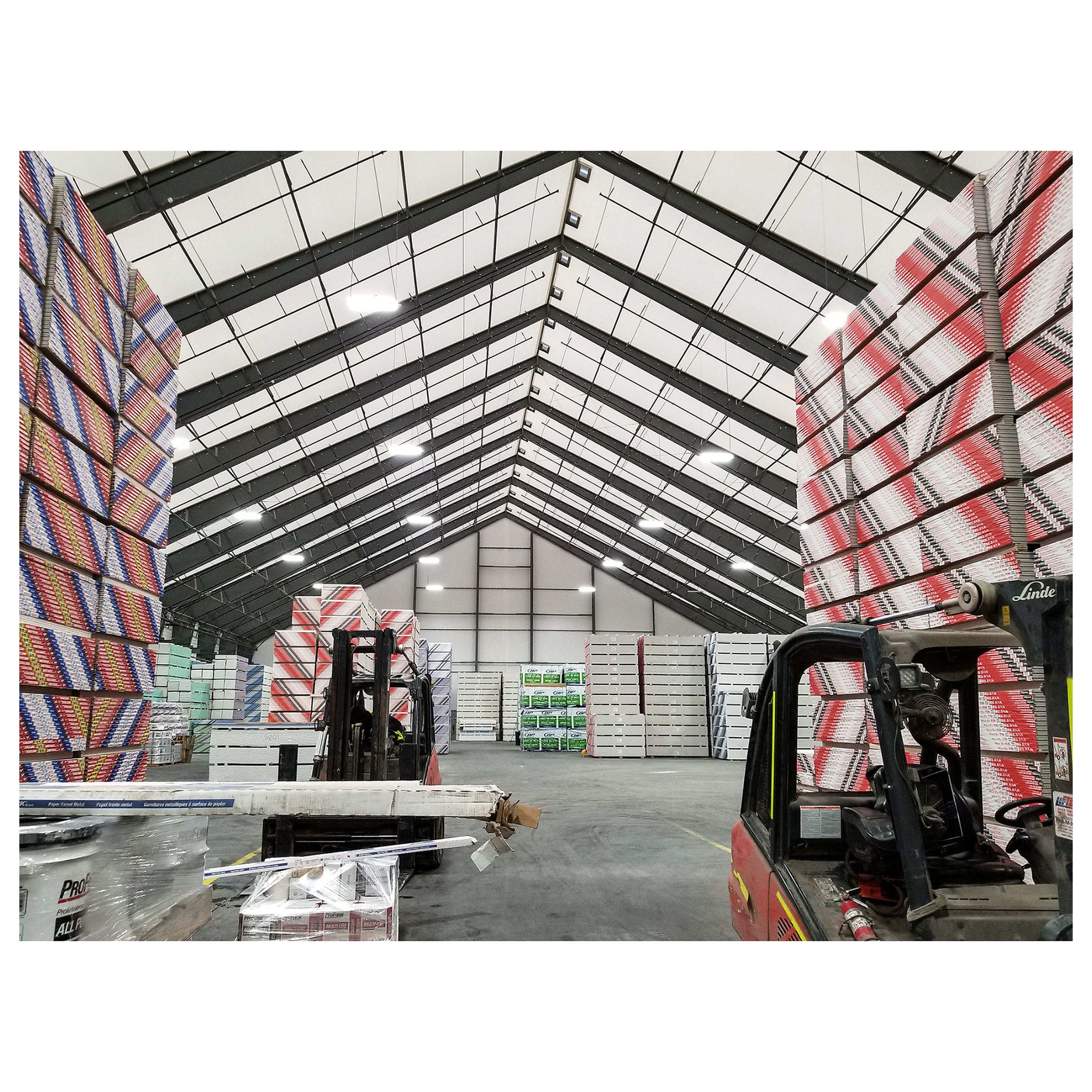 Warehouse & Manufacturing Fabric Building Sturdy Steel Frame For Durability And Efficiency