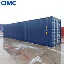 China supplier 40 feet high cube shipping container for sale