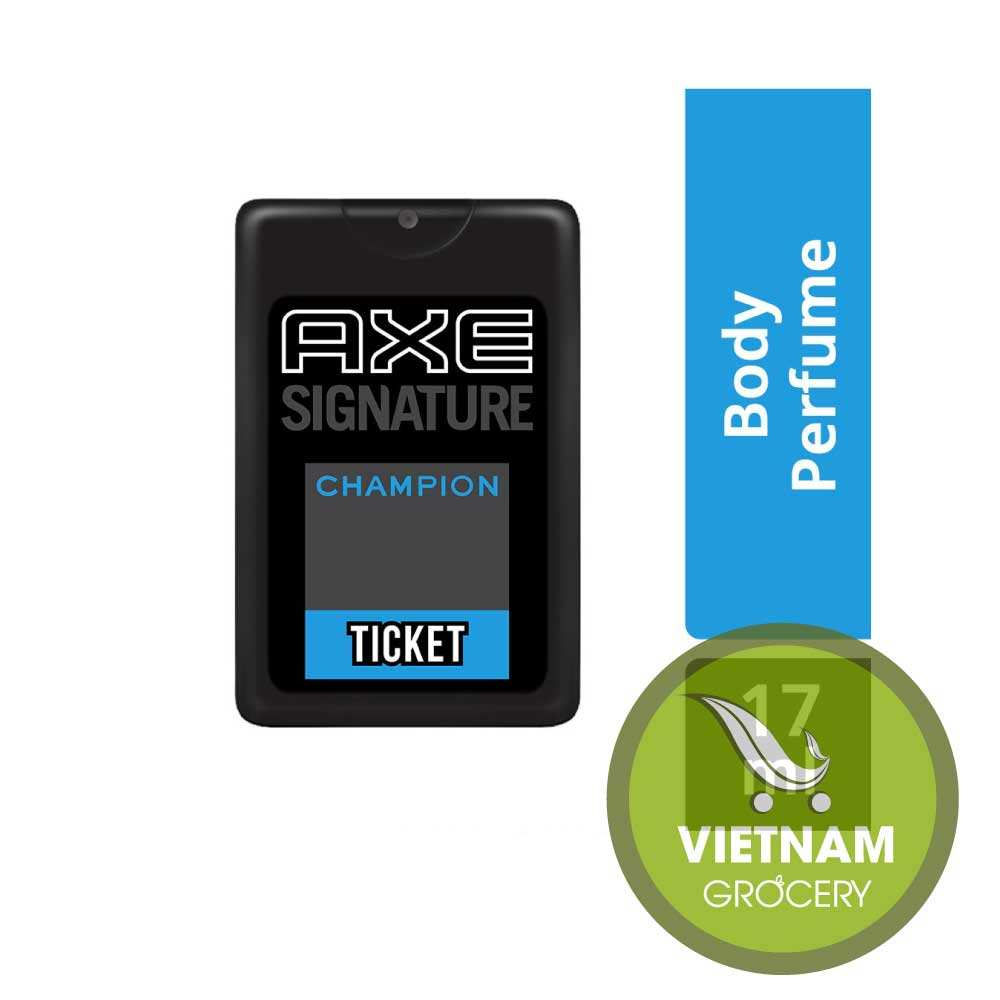 AXE Ticket Perfume, Champion, 17 ml