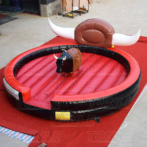 inflatable rodeo mechanical bulls price/ mechanical bull riding game for sale