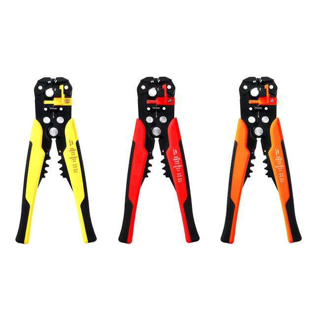 Automatic Cable Wire Stripper Cutter Duckbill Crimping Peeling Pliers Tool G