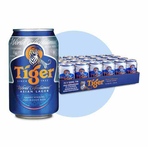 Tiger Beer Cans Alcohol Drink Online 320ml x 24