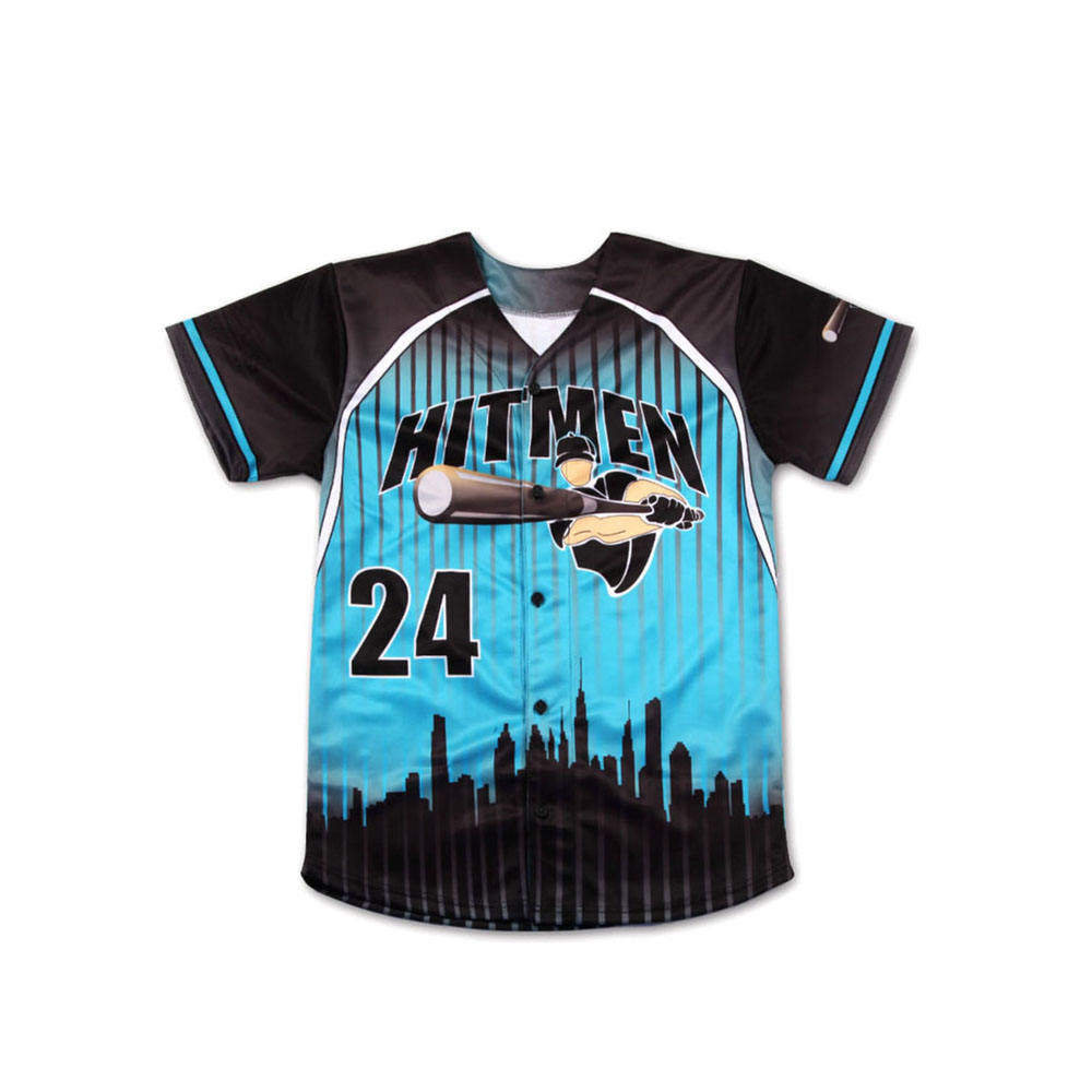 Full Sublimation Printed Cheap Price Base ball uniform For sale