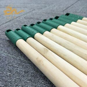 GLY Wooden Round Poles For Broom Mop Brush Handle