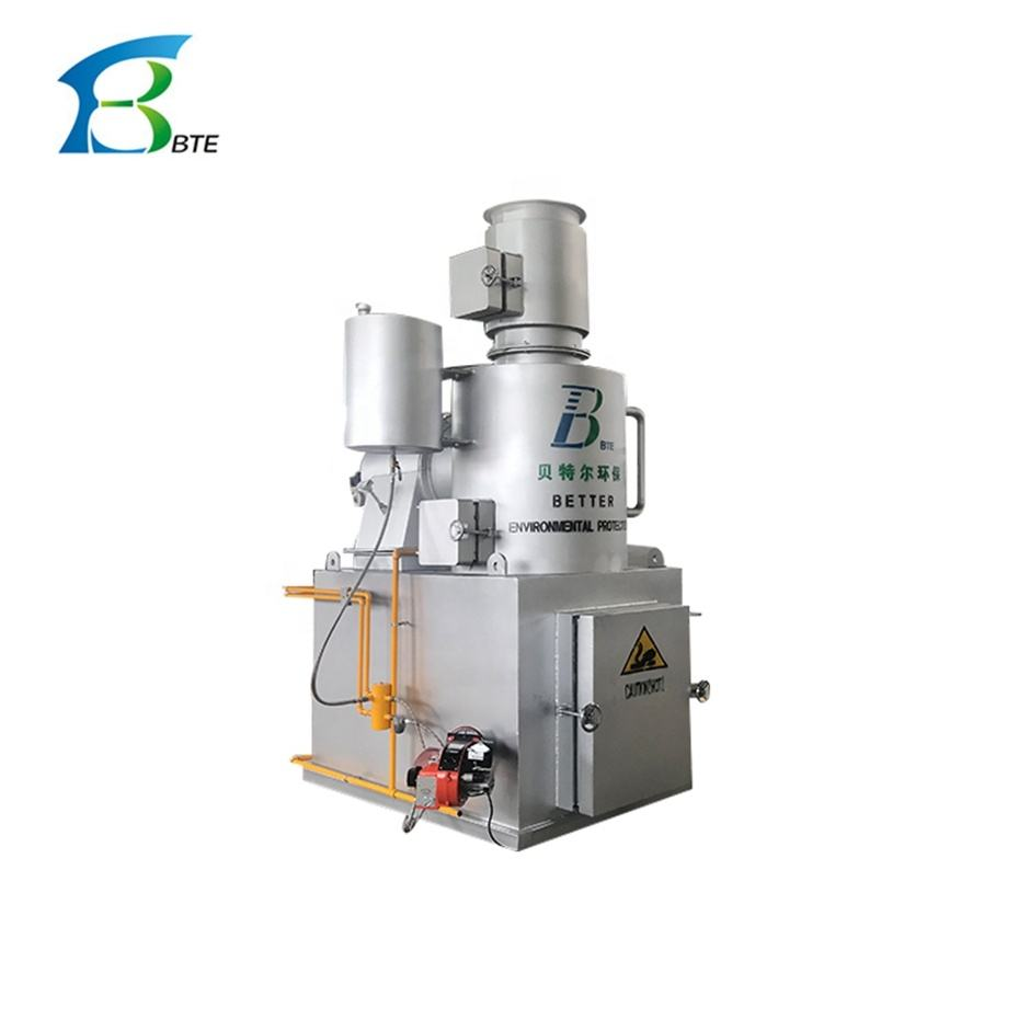 Good Selling Products Solid Industrial Hospital Incinerator Waste Ovens