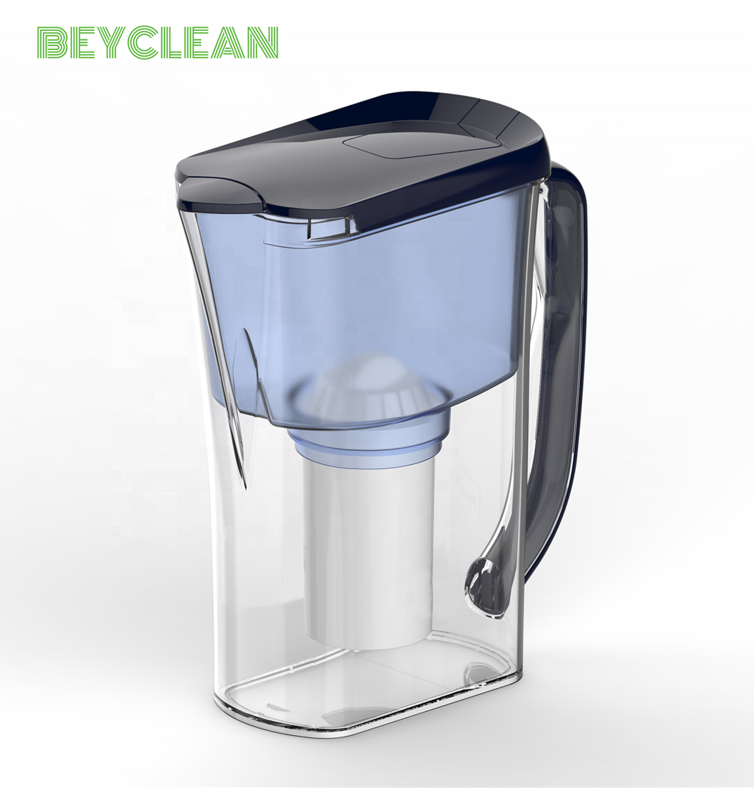 Plastic Automatic Filter Change Drinking Water Purifier Pitcher