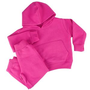 Wholesale Kids Sweatsuit kids street wear clothing set for winter