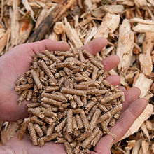 Wood pellet A1 Premium, spruce, 6mm, 15 kg big bag