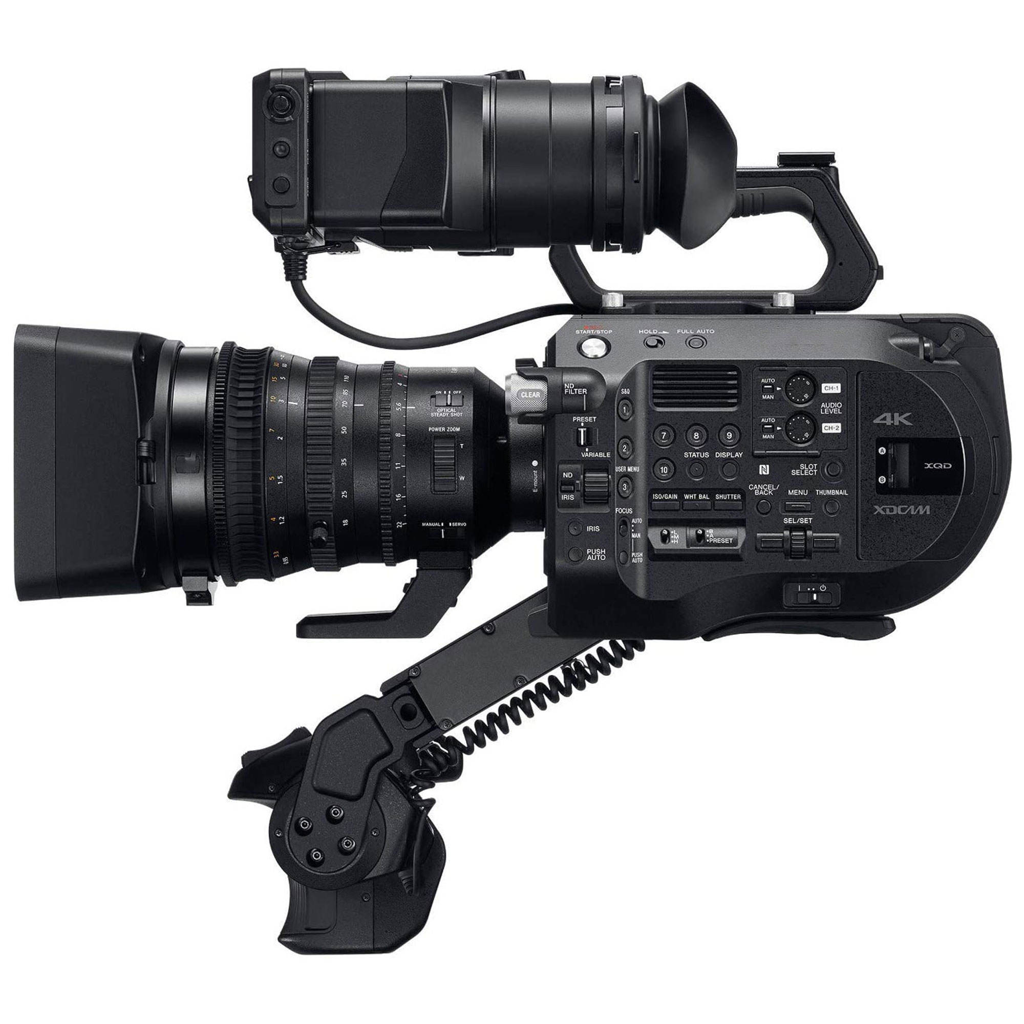 All New S o ny PXW-FS7M2 4K XDCAM Digital Cameras Super 35 Camcorder Kit with 18-110mm Zoom Lens Professional