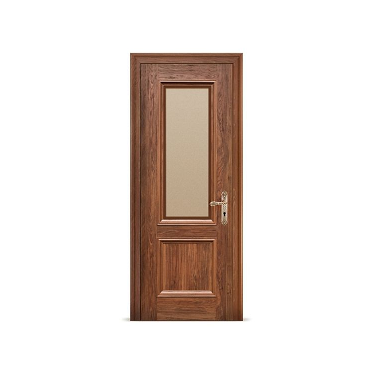 Cheap Water Resistant Decorative Frosted Interior Types Bathroom Door Commercial Exterior Pvc Upvc Frost Glass Bathroom Doors