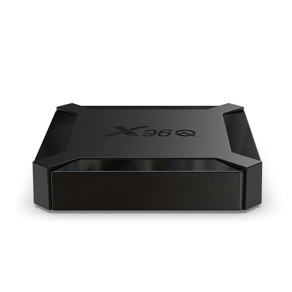 Shizhou Tech original fabrik großhandel preis <span class=keywords><strong>Allwinner</strong></span> H313 1GB 8GB smart tv box android 10.0 set Top Box X96Q