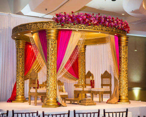 Traditional Indian Wedding Mandap