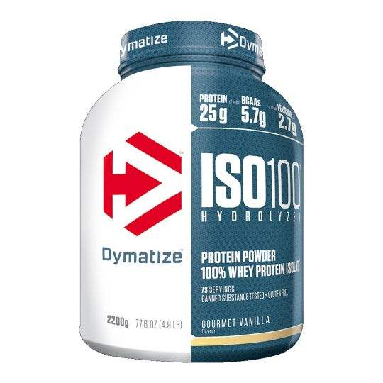 Dymatize ISO-100 Gehydrolyseerd 100% <span class=keywords><strong>Wei</strong></span>-eiwit